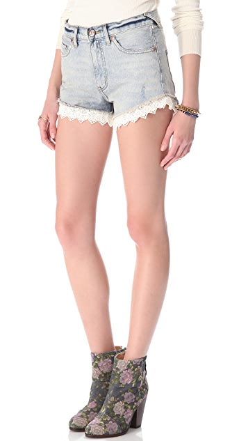 Free People Lacey Cutoff Shorts