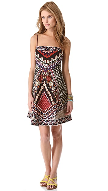 Free People Mirror Maze Swing Dress