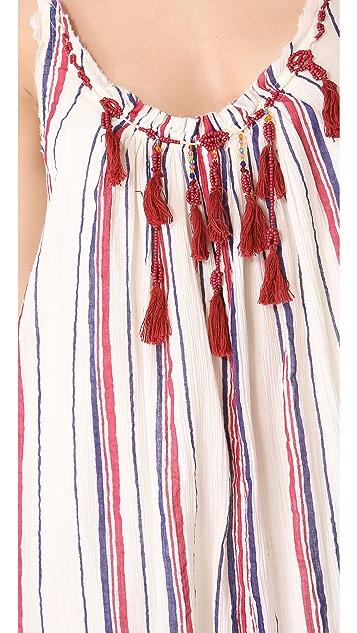 Free People Striped Unearthen Dress
