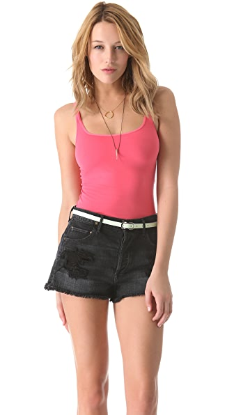 Free People Seamless Scoop Tank