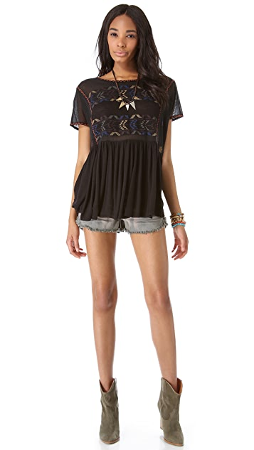 Free People Shenandoah Tunic