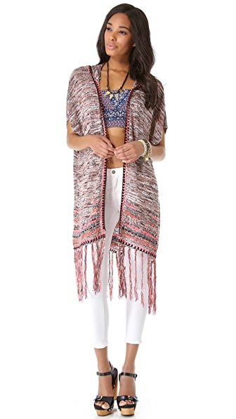 Free People Jungle Heat Cardigan