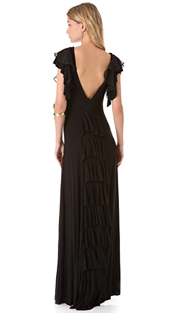 Free People Film Noir Maxi Dress