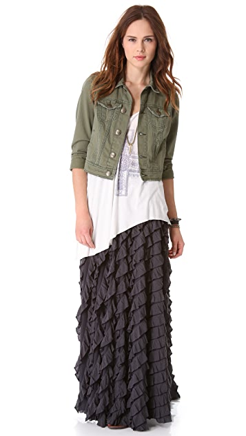 Free People Lydia Maxi Skirt