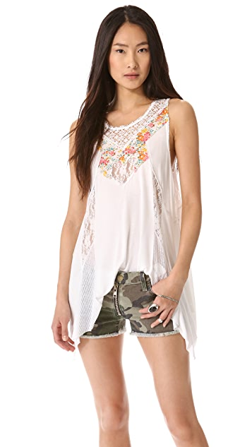 Free People Blown Away Tunic