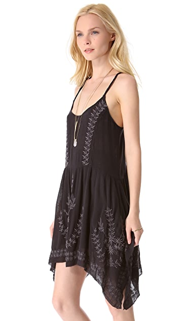 Free People Meadows of Medallion Slip Dress