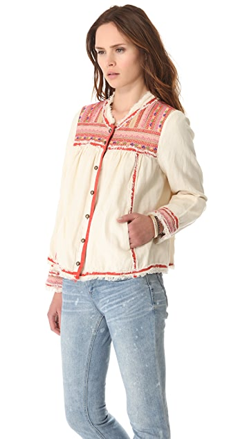 Free People Trapeze Prairie Jacket