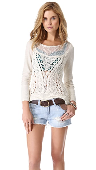 Free People If So Pullover