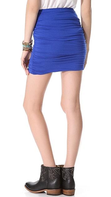 Free People Essential Scrunch Miniskirt