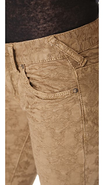 Free People Slim 5 Pocket Jeans