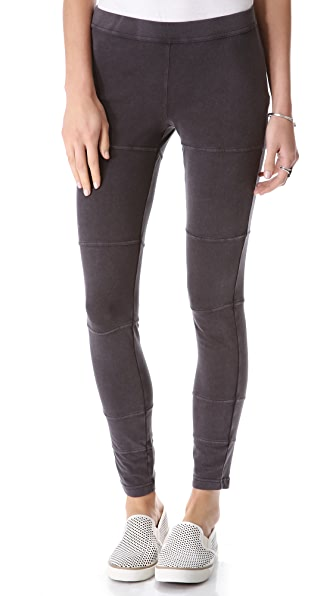 Free People Acid Washed Leggings
