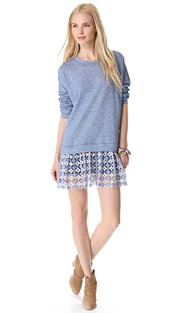 Free People Shake It Up Pullover Dress