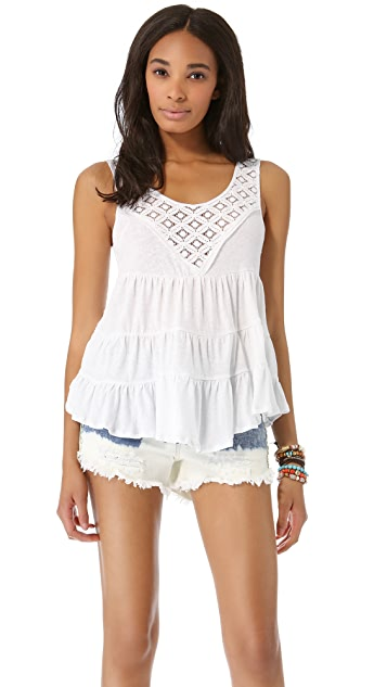 Free People Dorothy's Babydoll Top