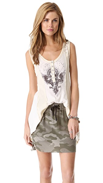 Free People Night Falls Tank