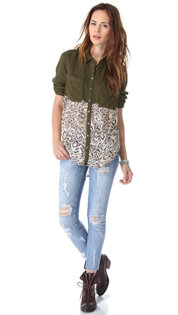 Free People Welcome to the Jungle Top