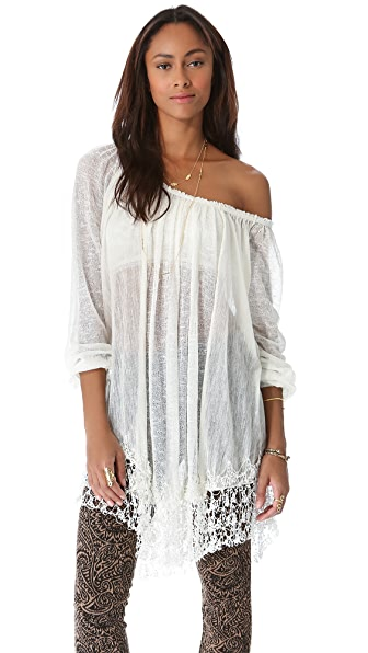 Free People Slip Away Pullover