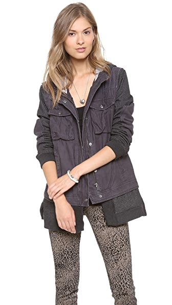 Free People Twill Jacket