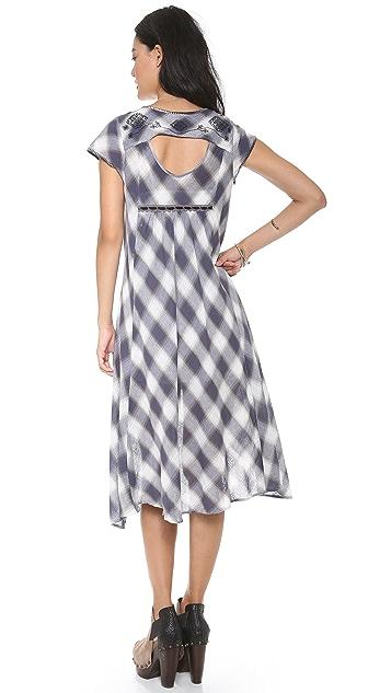 Free People Rad for Plaid Dress