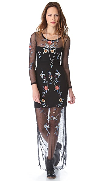 Free People Peonies Maxi Dress