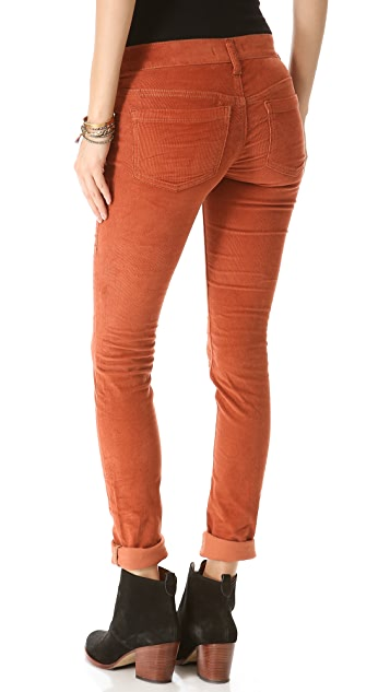 Free People Skinny Corduroy Pants