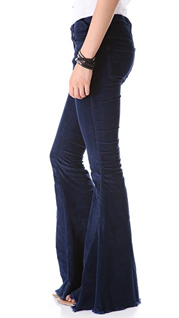 Free People Super Flare Corduroy Pants