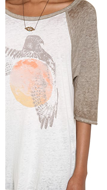 Free People Bandit Graphic Tee