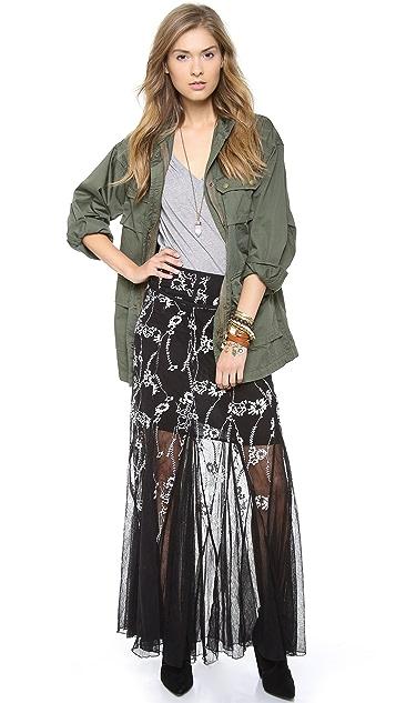 Free People Windswept Maxi Skirt