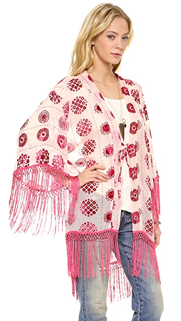 Free People Falling Flowers Jacket