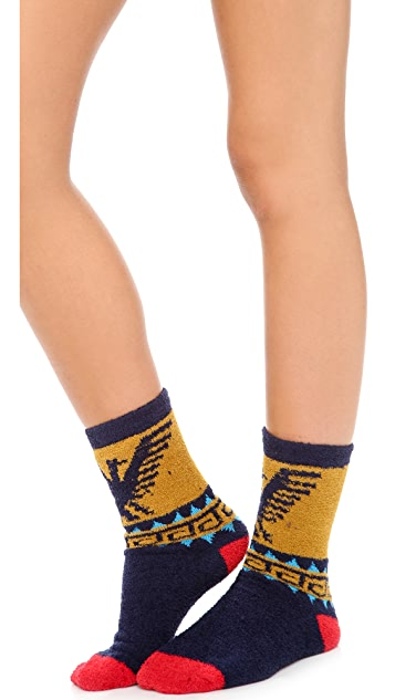 Free People Lou's Pattern Cozy Socks