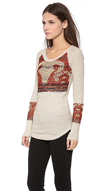 Free People Bambi Long Sleeve Top