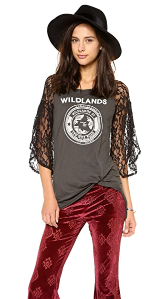 Free People Rock Me Graphic Tee