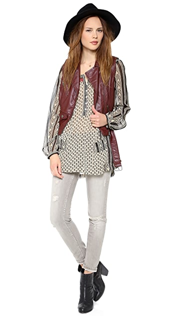 Free People Feather in the Wind Top