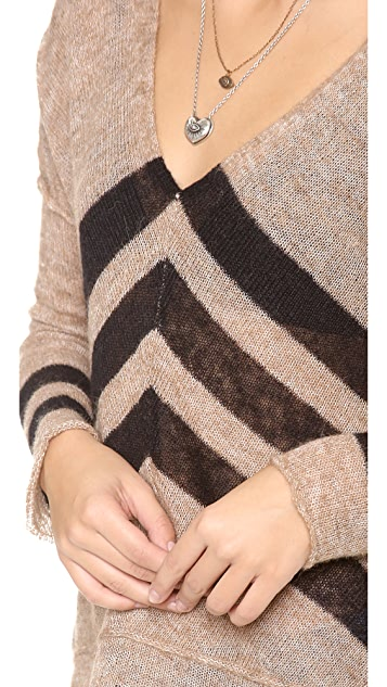 Free People Twelve Rose Sweater