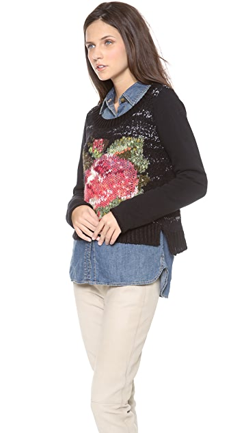 Free People Magic Rose Pullover