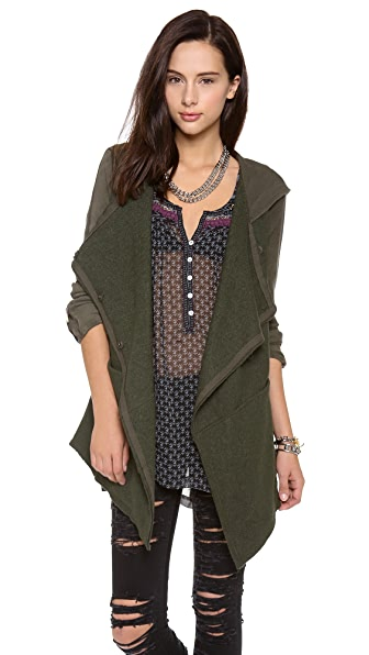 Free People Draped Cardigan