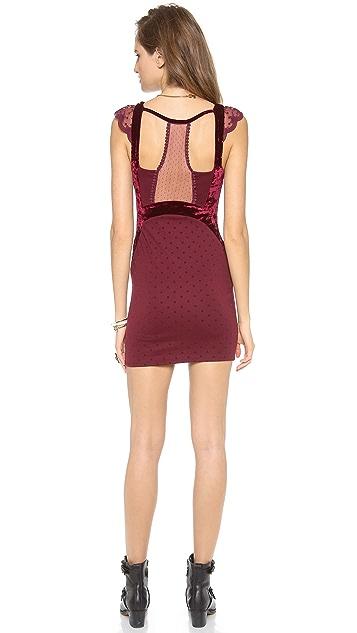 Free People Madeline Mini Dress