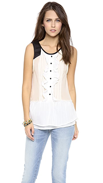 Free People Paint the Town Top
