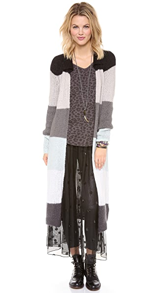 Free People Over the Rainbow Cardigan