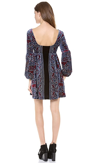 Free People Oh So Easy Babydoll Dress