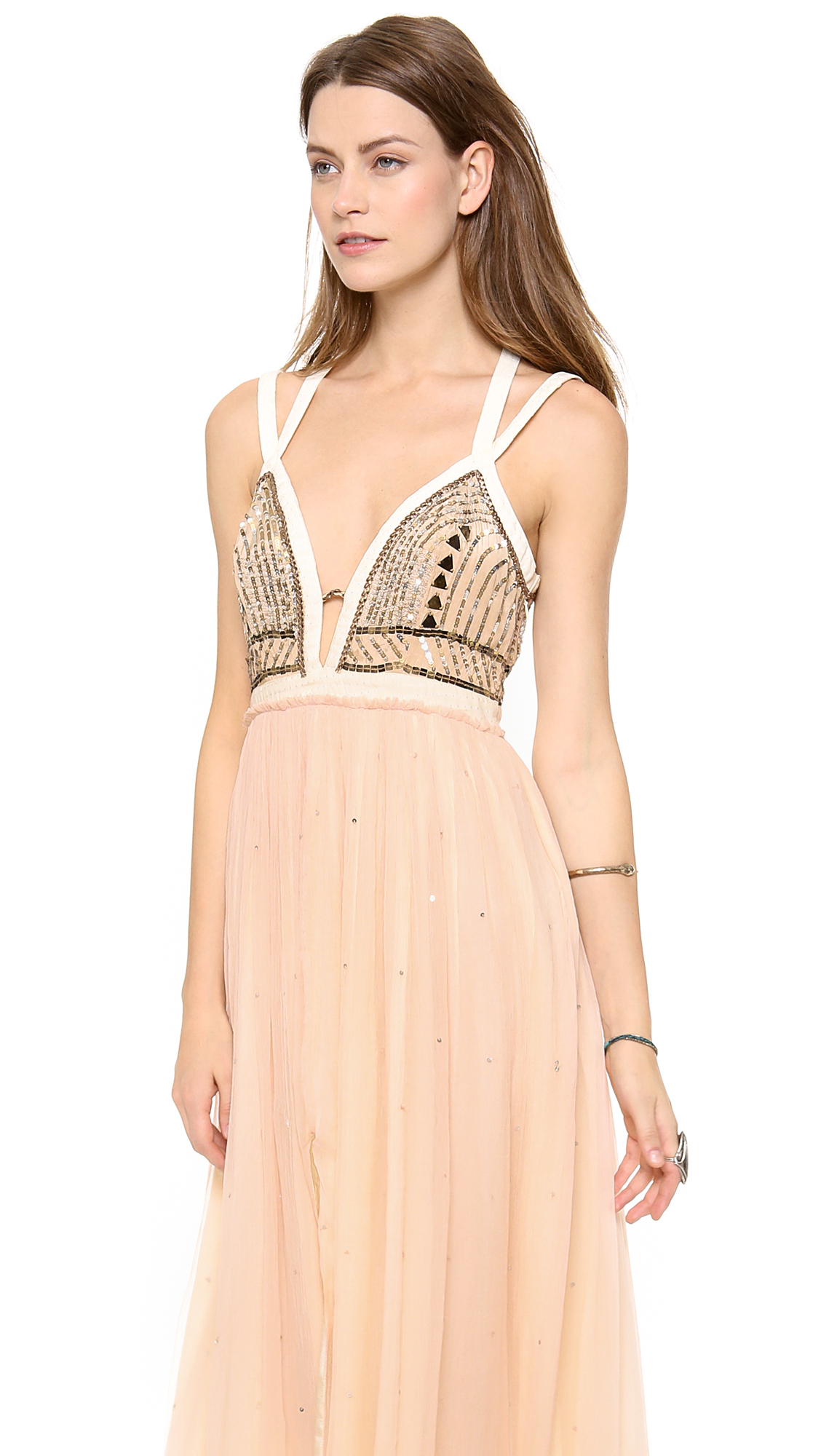 Free People Golden Chalice Maxi Dress | SHOPBOP