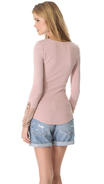 Free People Kyoto Thermal Top