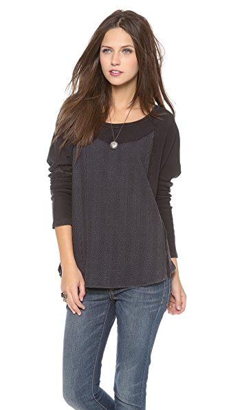 Free People Luella Heavyweight Pullover