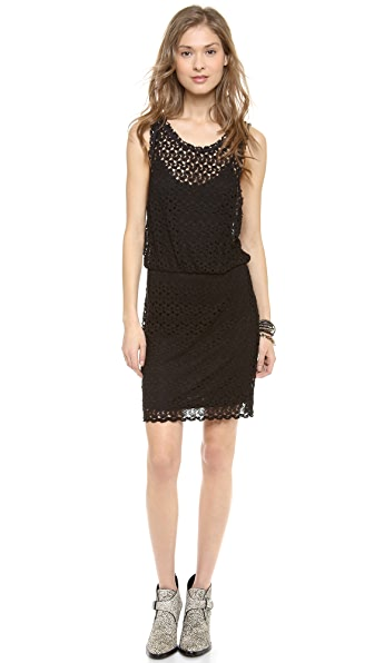 Free People Lily Lace Mini Dress