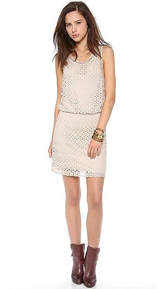 Free People Lily Lace Mini Dress