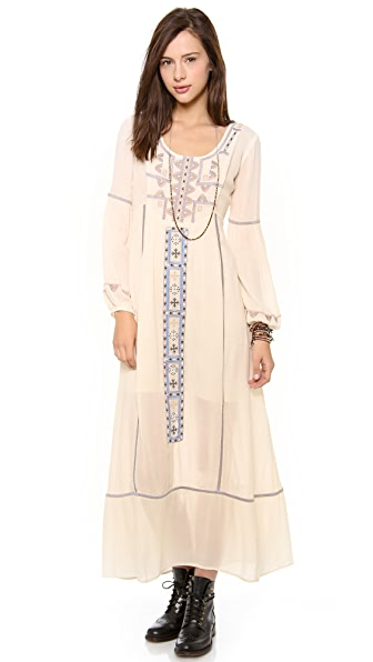 Free People Desert Winds Maxi Dress