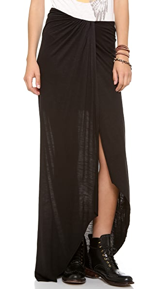Free People Jersey Column Skirt