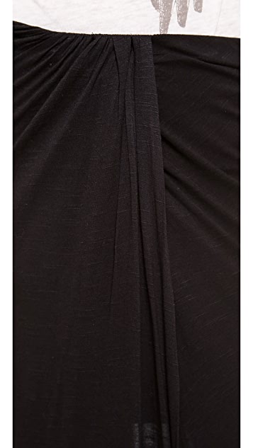 Free People Jersey Column Skirt