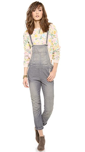 Free People Thomas Overalls
