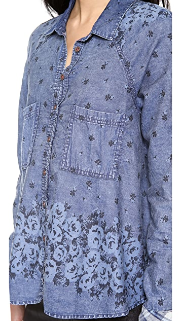 Free People Dottie Over You Top
