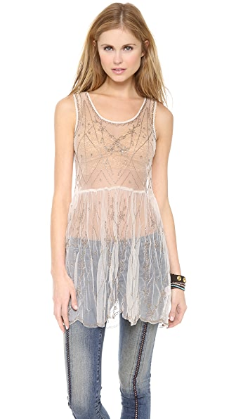 Free People Embellished Slip